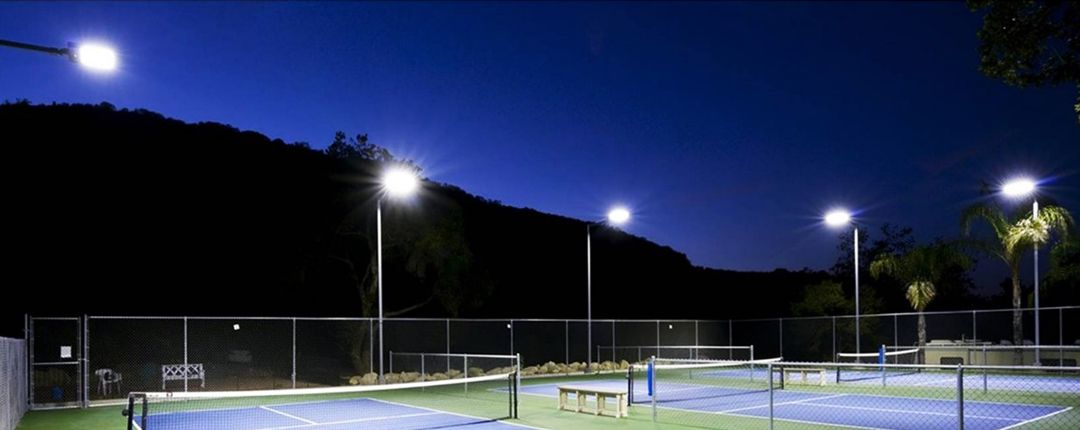 luces exteriores para canchas costa rica