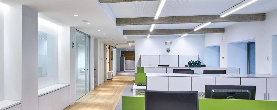 luces de emergencia para oficinas