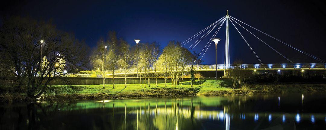 luces para postes calle costa rica